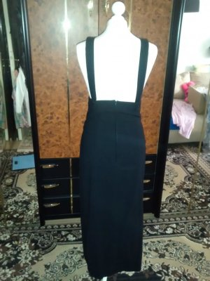 Pinafore Overall Skirt black