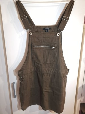 Forever 21 Pinafore Overall Skirt multicolored