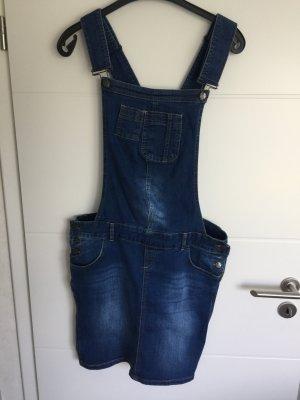 Paulina Pinafore Overall Skirt blue