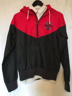 Nike Windbreaker black-brick red