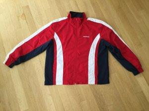 Sports Jacket red-dark blue polyester