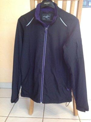 Tchibo / TCM Veste de sport noir-violet