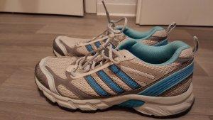 Adidas Sneaker stringata bianco-azzurro