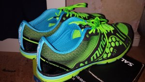 Laufschuhe light weight Green