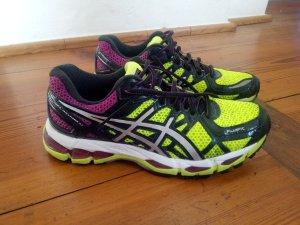 Laufschuhe Sportschuhe Jogging Asics Gel Kayano 21 38 39 Neongelb