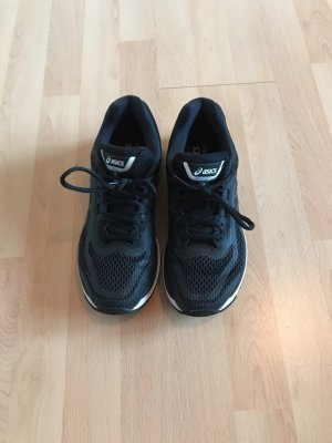 Asics Zapatillas negro-blanco