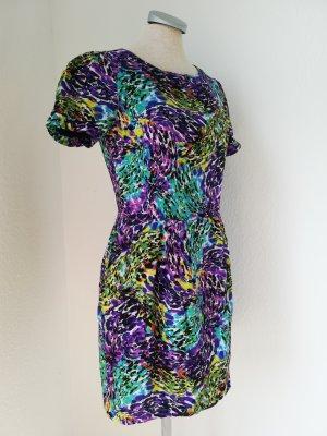 Laundry Room Sommerkleid Gr. M 38 bunt Kurzarm Minikleid Kleid kurz