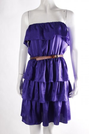 Flounce Dress lilac-blue violet