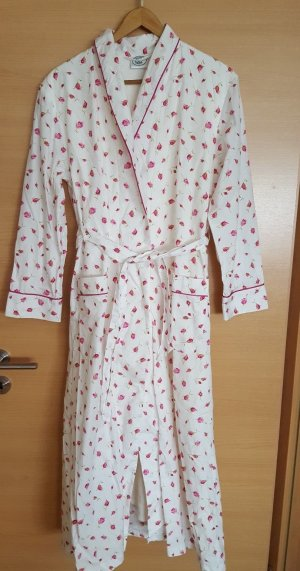 Laura Ashley Dressing Gown white cotton
