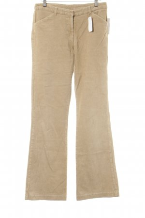 Laura Ashley Pantalon en velours côtelé beige style décontracté