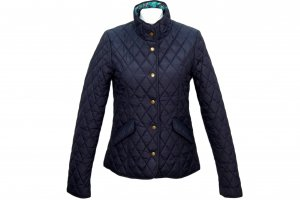 Laura Ashley Jacke in Dunkelblau