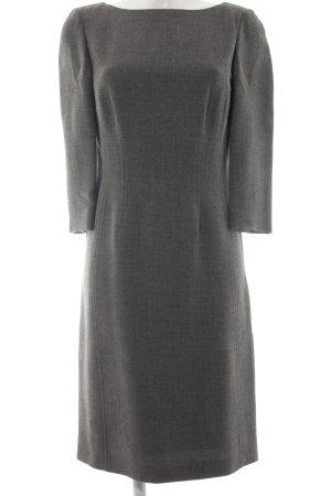 Laura Ashley Langarmkleid grau schlichter Stil
