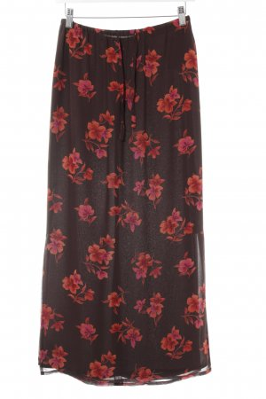 Laura Ashley Maxirock florales Muster Beach-Look