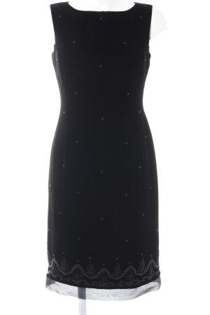 Laura Ashley Trägerkleid schwarz Elegant
