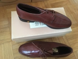 Laura Bellariva Oxfords cognac-coloured leather