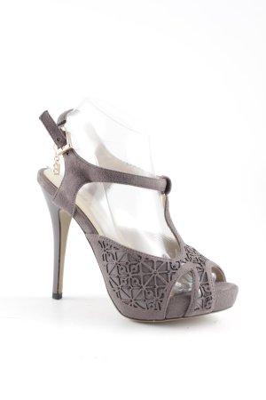 Laura biagiotti High Heel Sandaletten grau Party-Look
