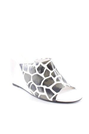 Laura biagiotti Keil-Pumps abstraktes Muster extravaganter Stil