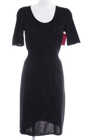 Laura biagiotti Strickkleid schwarz schlichter Stil