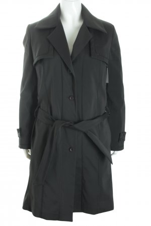 Laura biagiotti Trenchcoat schwarz Business-Look