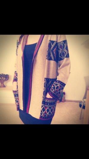 Laura Kent Damen Pullover im Strick-Printdesign