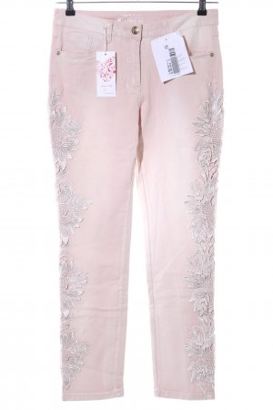 Laura Kent Low-Rise Trousers nude casual look