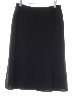 Laura Lebek High Waist Rock schwarz Business-Look