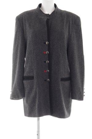 Laura Lebek Chaqueta de lana gris claro look casual