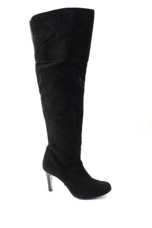 Laura Overknees schwarz Elegant