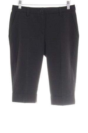 Laura Scott 3/4 Length Trousers black business style