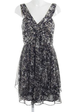 Laura Scott A-Linien Kleid abstraktes Muster Elegant
