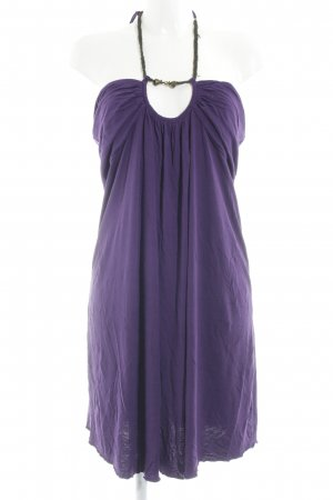 Laura Scott A-Linien Kleid lila Party-Look