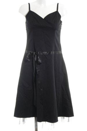 Laura Scott A-Linien Kleid schwarz Elegant