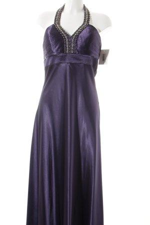 Laura Scott Abendkleid dunkelviolett Elegant