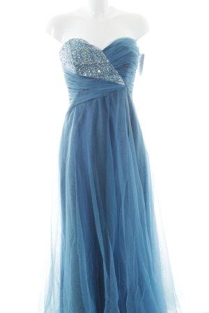 Laura Scott Abendkleid kornblumenblau-blau Paillettenverzierung