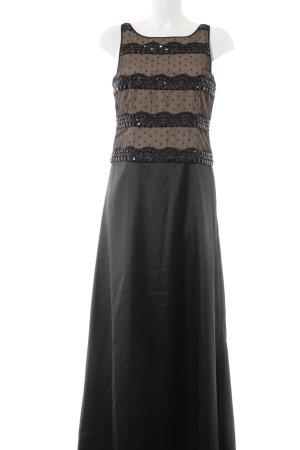 Laura Scott Abendkleid schwarz-creme Elegant