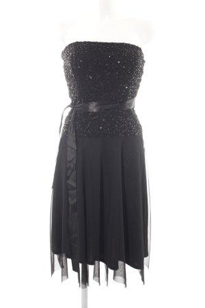 Laura Scott Abendkleid schwarz extravaganter Stil