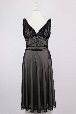 Laura Scott Abendkleid schwarz Größe 38