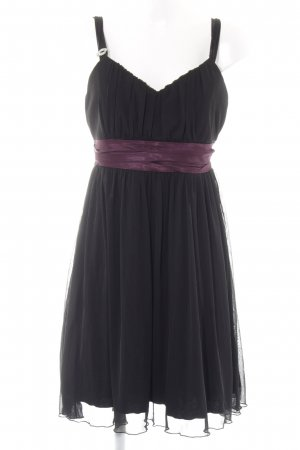 Laura Scott Abendkleid schwarz-lila Party-Look