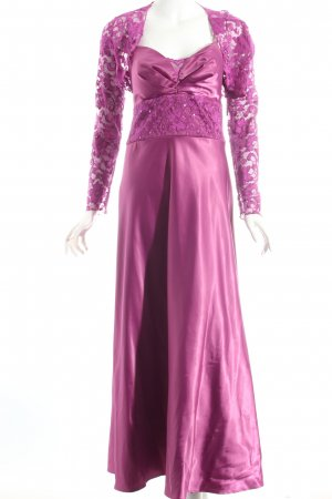 Laura Scott Abendkleid violett Eleganz-Look