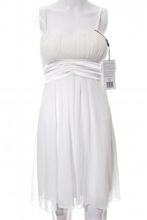 Laura Scott Empire Dress white business style