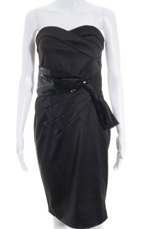 Laura Scott Bandeaukleid schwarz Elegant