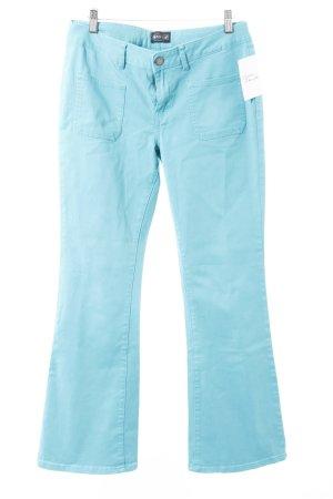 Laura Scott Boot Cut Jeans türkis Casual-Look