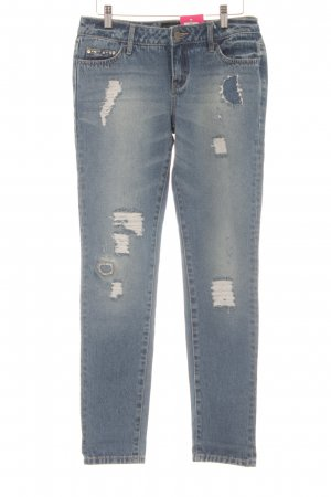 Laura Scott Boyfriendjeans blau Casual-Look