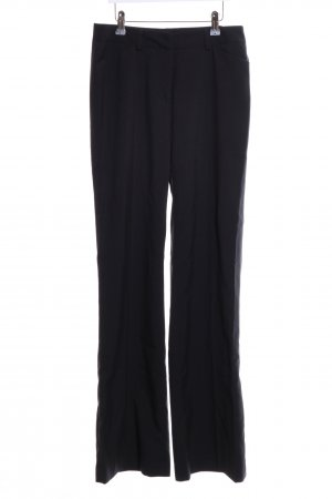 Laura Scott Bundfaltenhose schwarz Business-Look