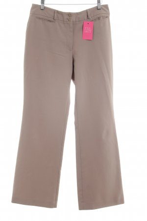 Laura Scott Pleated Trousers beige elegant