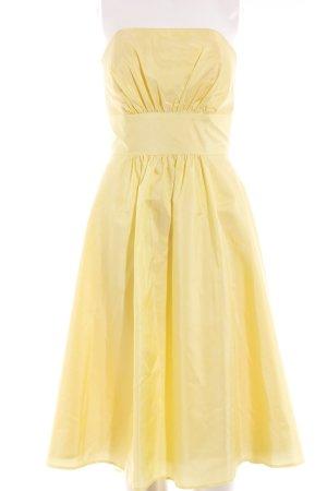 Laura Scott Bustierkleid blassgelb Elegant