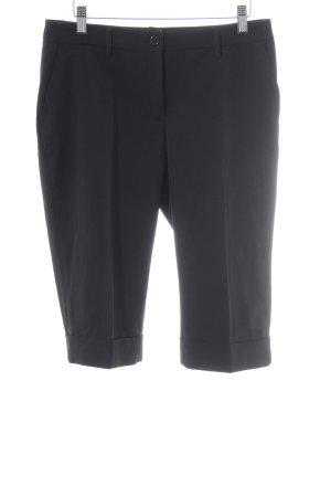 Laura Scott Pantalone Capri nero stile professionale