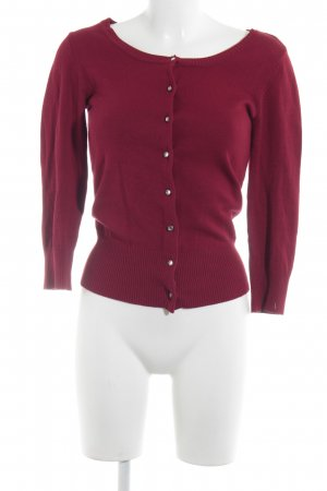 Laura Scott Cardigan dunkelrot Casual-Look