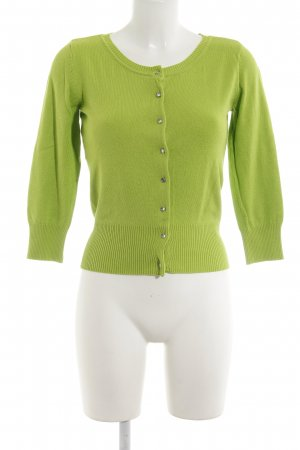 Laura Scott Cardigan grün Casual-Look