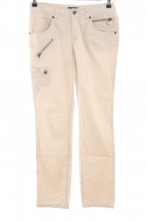 Laura Scott Cargohose creme Casual-Look